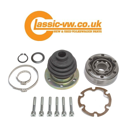 inner cv joint kit right side 100mm 191498104 mk1 golf mk2
